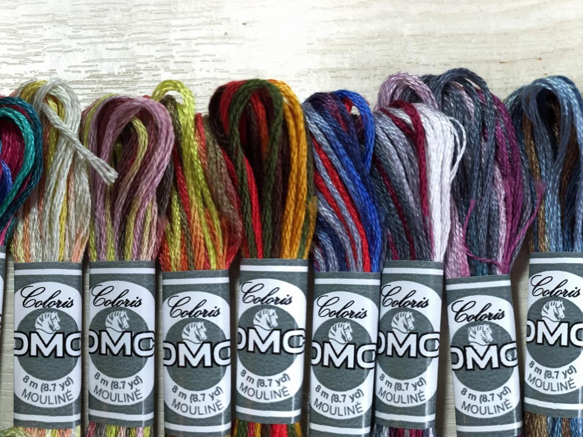 DMC Coloris Embroidery Threads