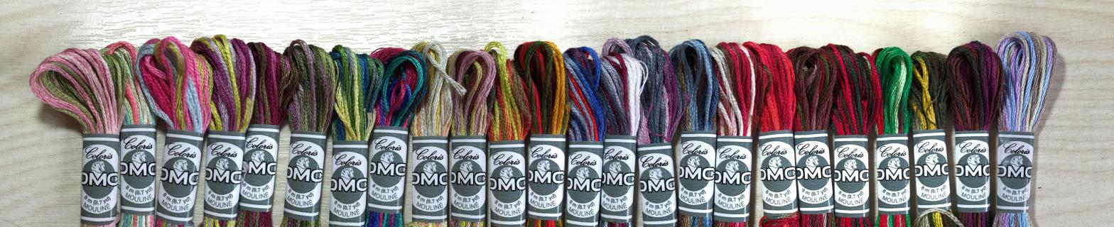 DMC Coloris Embroidery Threads