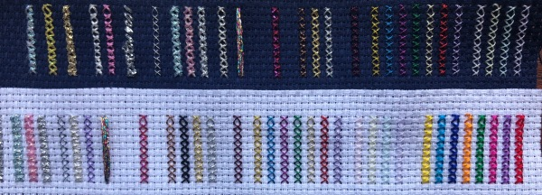 Metallic Embroidery Thread Sample Testing